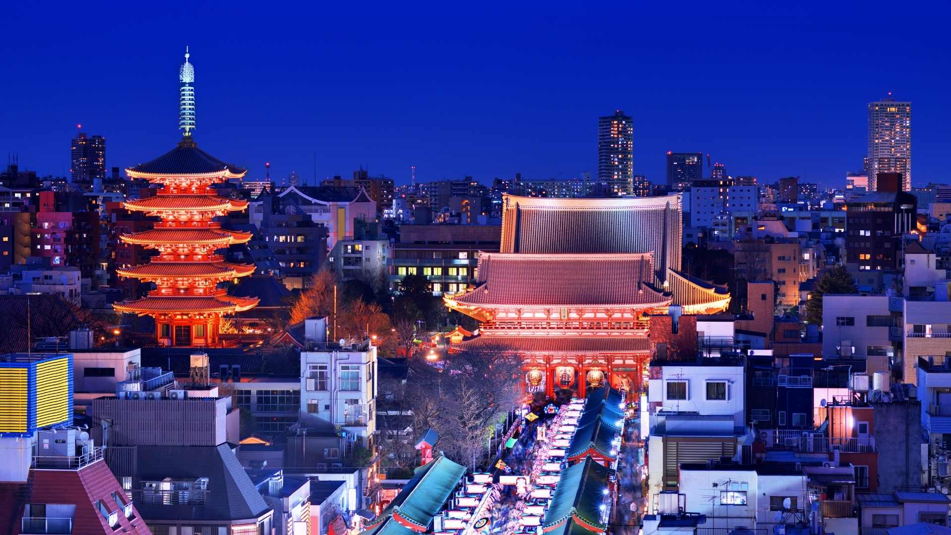 The unique nightlife in Traditional Asakusa