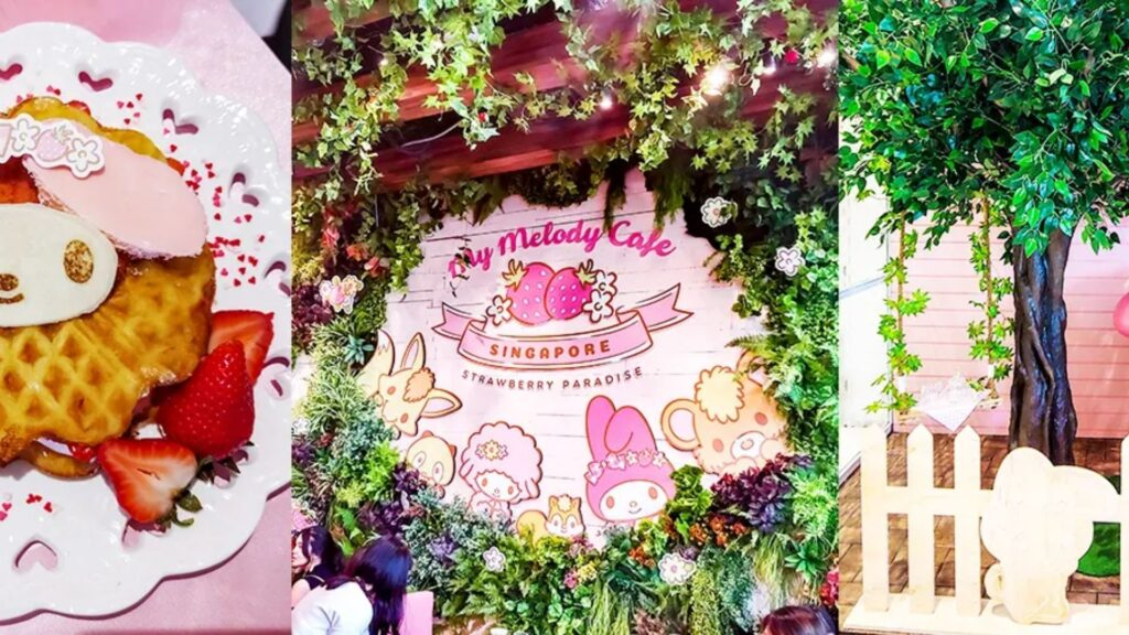 Find Kawaii Collaboration Cafes in Tokyo My Melody Cafe