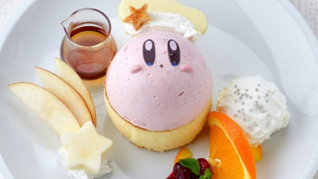 Find Kawaii Collaboration Cafes in Tokyo kirby cafe
