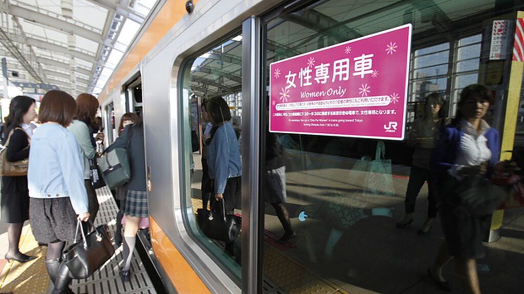 Women-only-trains-in-Japan