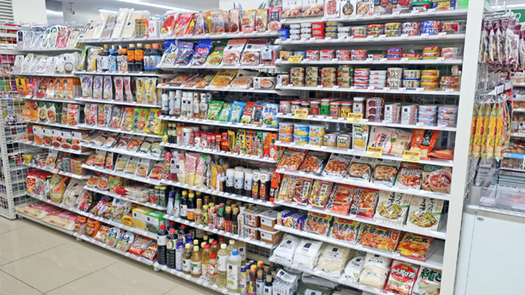 Drunk food option for Japan Convinience Store