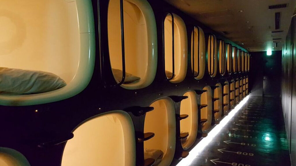 Is Tokyo expensive_ Unbelievably affordable ways to get around Japan Capsule Hotel