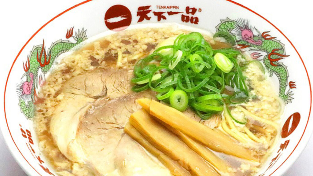 Ramen chains and everything you need to know about them-Tenkaippin 天下一品
