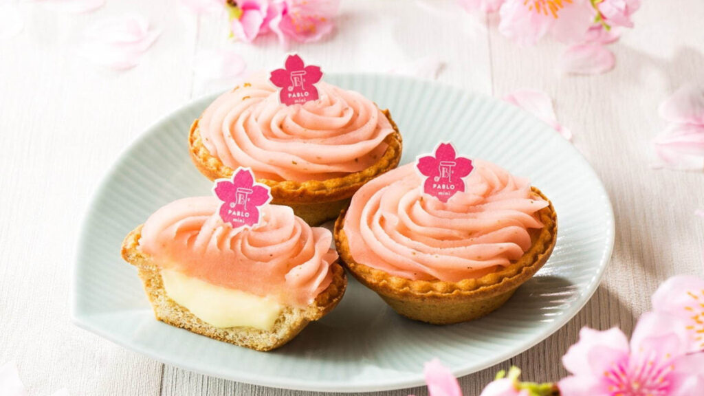 Spring has Sprung, how to enjoy Spring in Tokyo, 2020 Pablo spring edition cheese tart