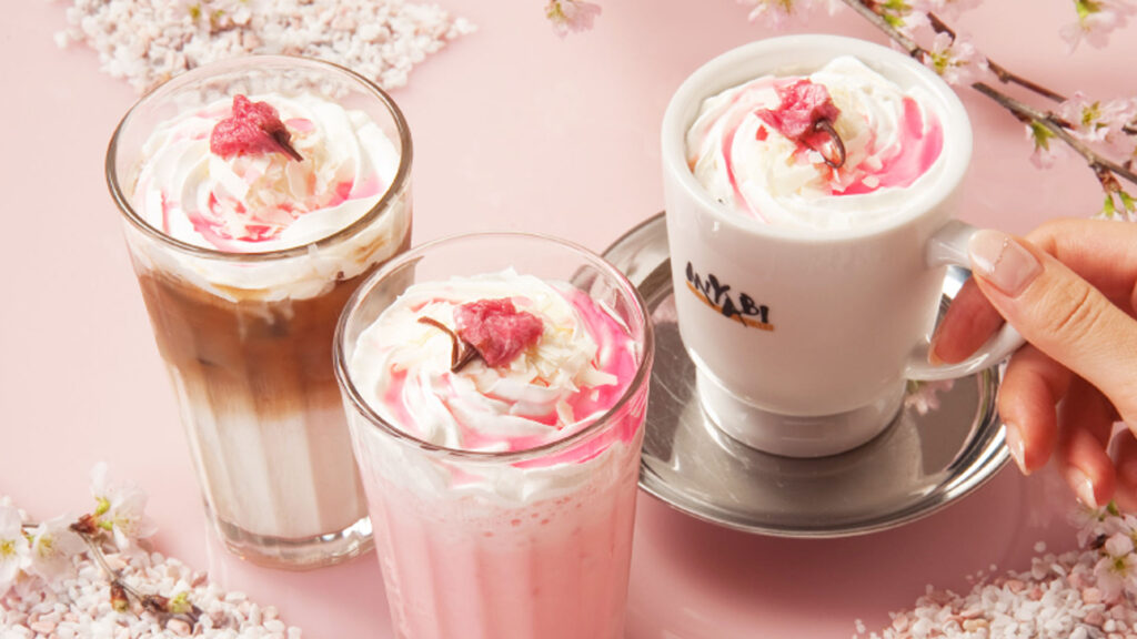 Spring has Sprung, how to enjoy Spring in Tokyo, 2020 Pink drinks and pink food sakura cherry blossom theme