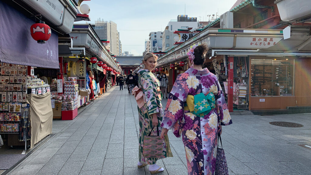 Visit Tokyo under 24 hours- One Day Trip Itinerary Kimono Experience in Asakusa