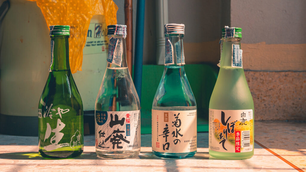 Why should you travel to japan Japanese drinks