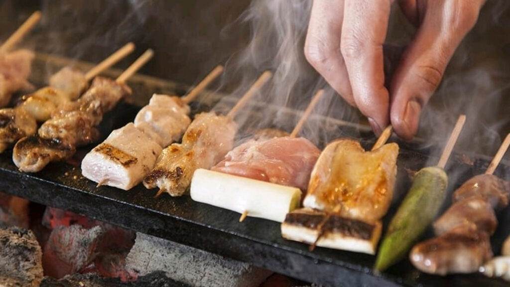 All-you-can-drink in Japan, All you need to know and the best places Marukin yakitori restaurant