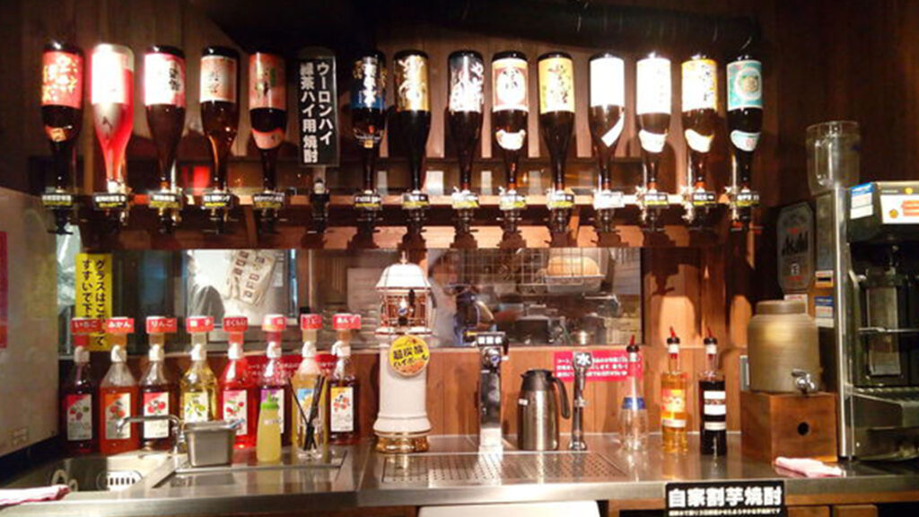 All-you-can-drink in Japan, All you need to know and the best places marukin
