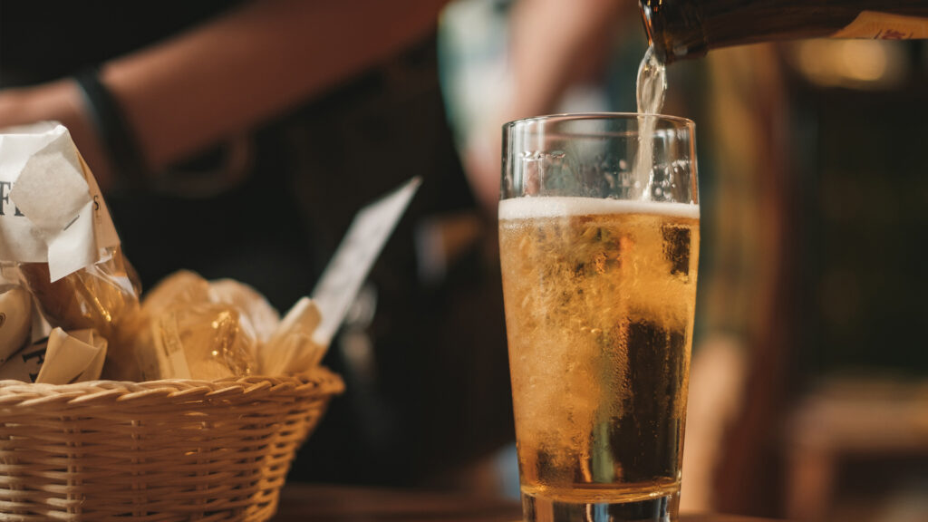 Japanese things you can do during lockdown, Japanese food and drinks beer