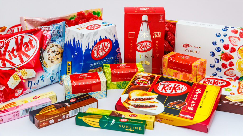 Japanese things you can do during lockdown, Japanese food and drinks kit kat