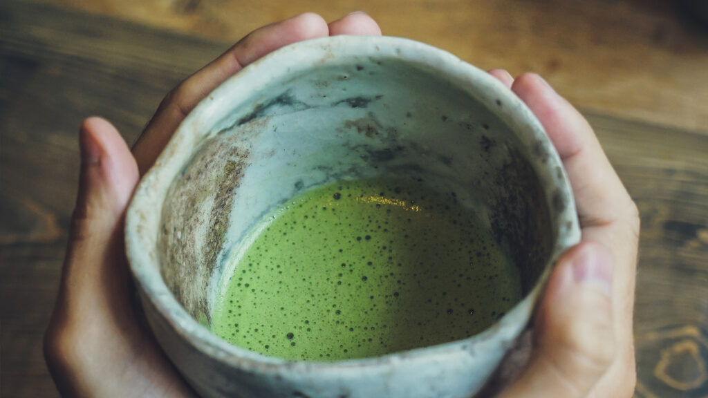 Japanese things you can do during lockdown, Japanese food and drinks matcha