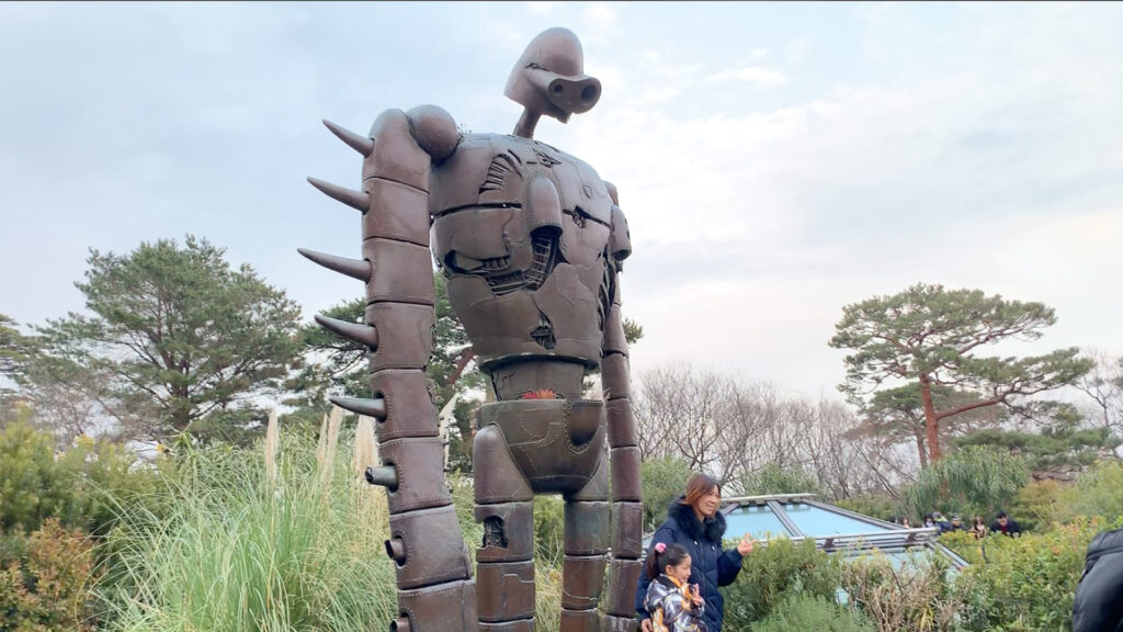 The Ghibli Museum- How to get tickets and everything you need to know robot statue