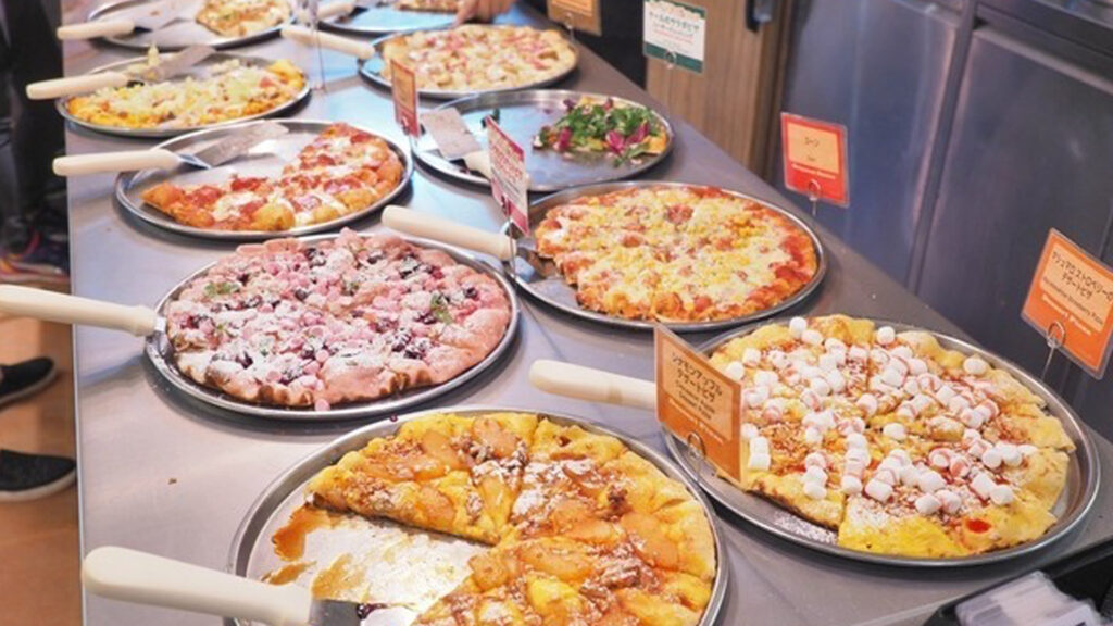 The best places and everything about all-you-can-eat, Tabehoudai in Japan shakey's pizza