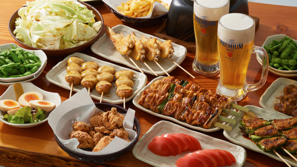 The best places and everything about all-you-can-eat, Tabehoudai in Japan torikizoku yakitori