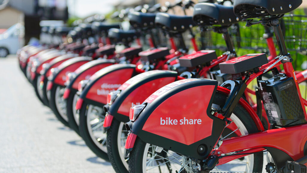 Top travel tips for your visit to Japan- bicycles