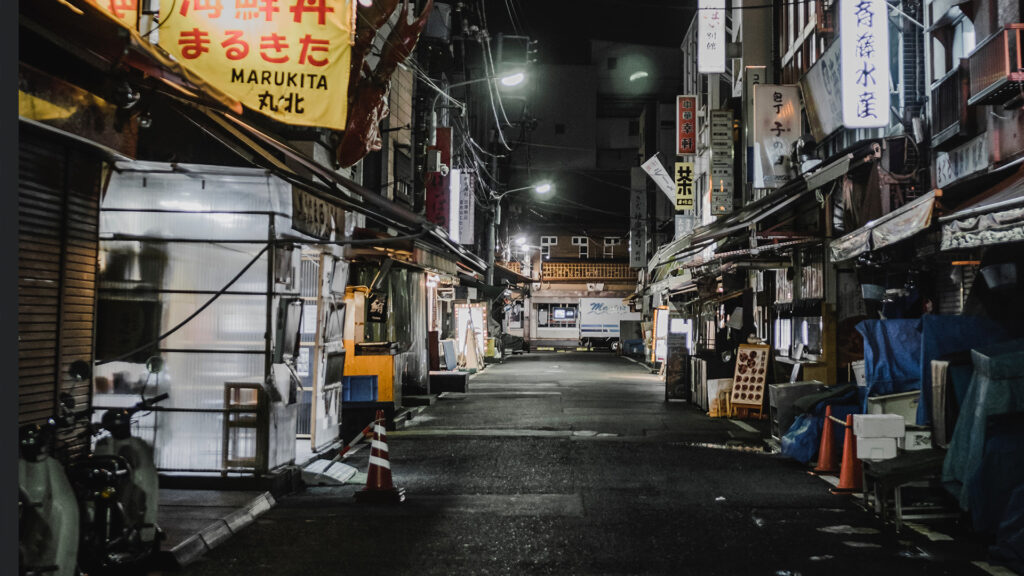 What do people think about coronavirus COVID-19 in Japan empty streets