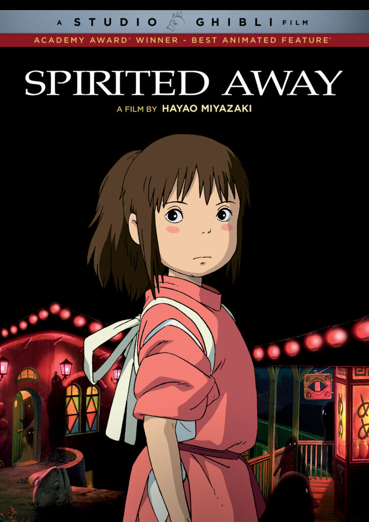 What to do at home Japanese books, movies, TV shows Spirited Away