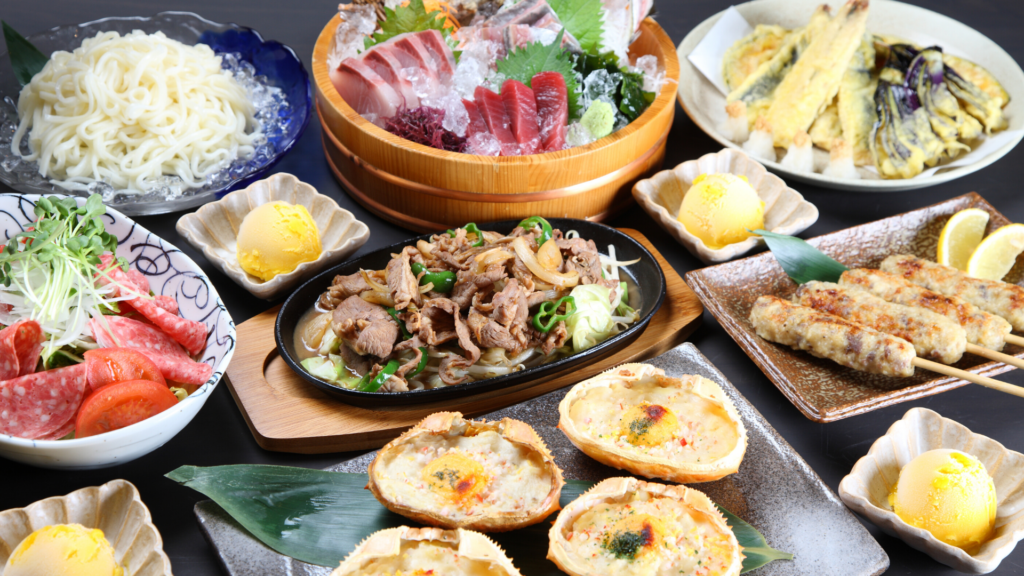 Japanese food Best place to live in japan