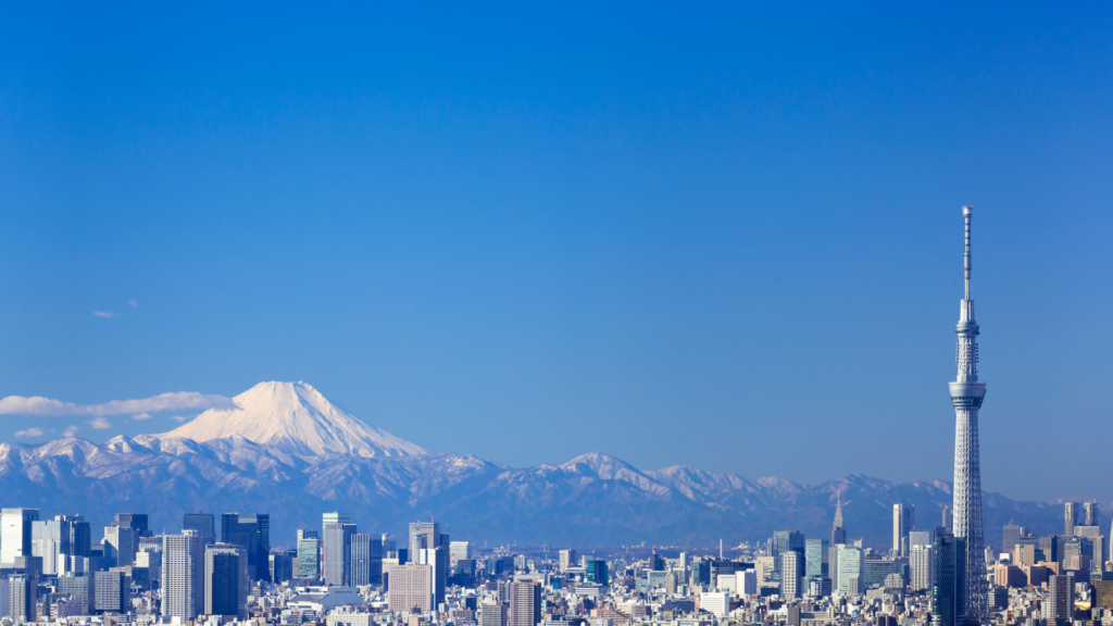 Best place to live in japan, mt fuji