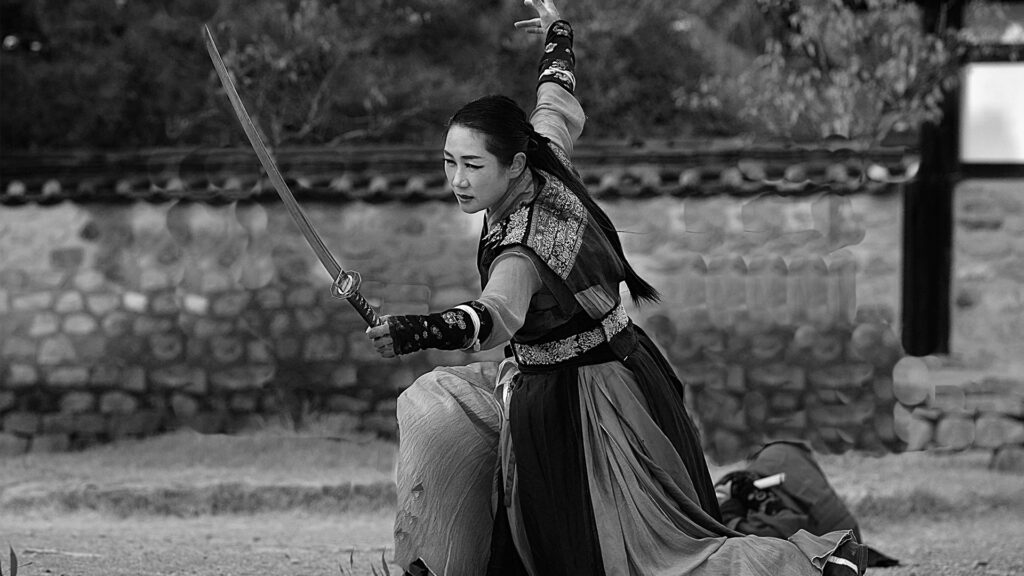 Japanese Culture The Way of the Samurai black and white