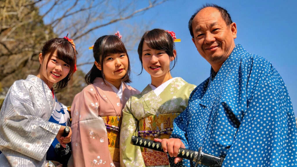 Japanese Culture The Way of the Samurai family