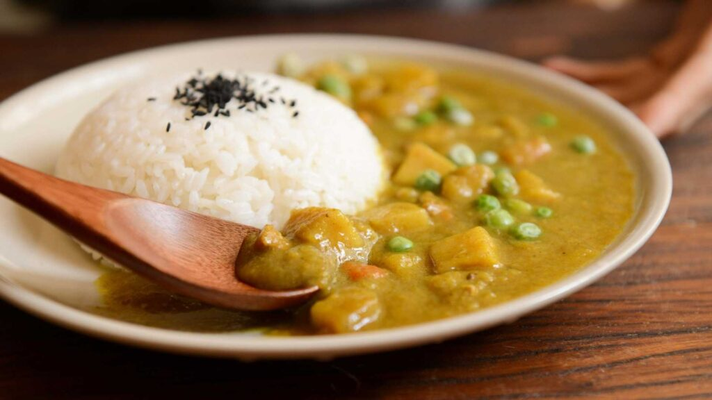 Japanese curry in Tokyo
