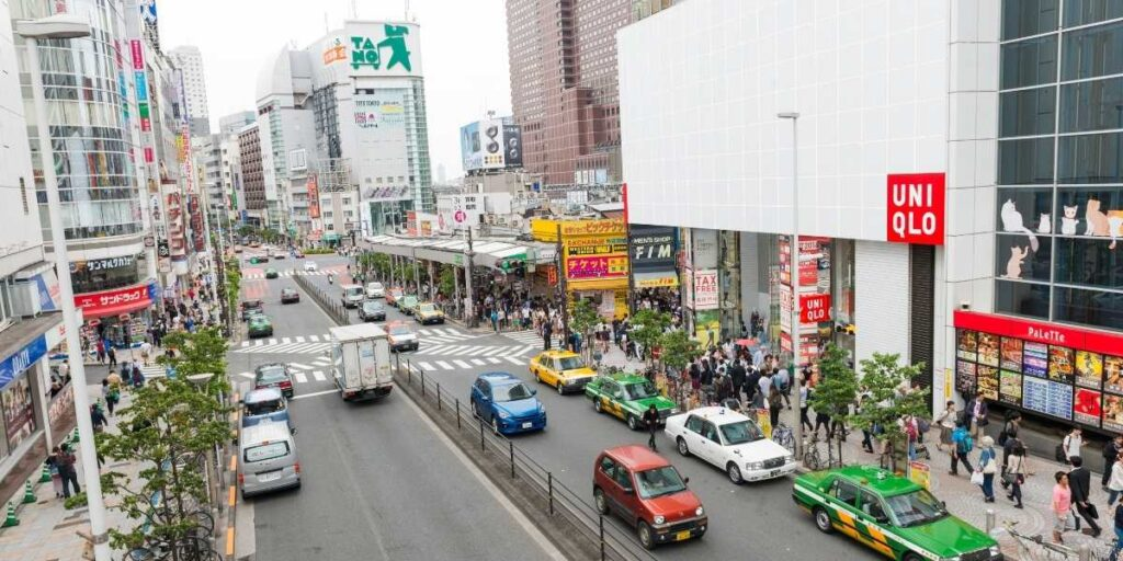 Driving in Tokyo