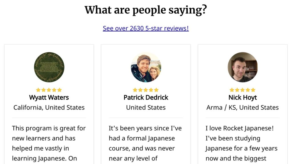 Reviews of Rockets Languages