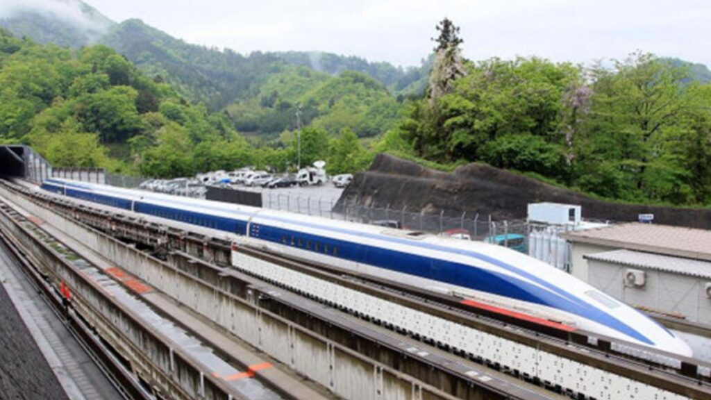 New things Japan set up for the Tokyo Olympics 2020 Developing The New Maglev Train