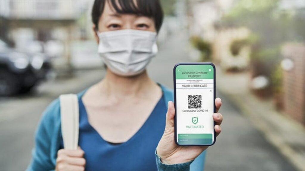 Getting vaccinated in Japan Online booking site