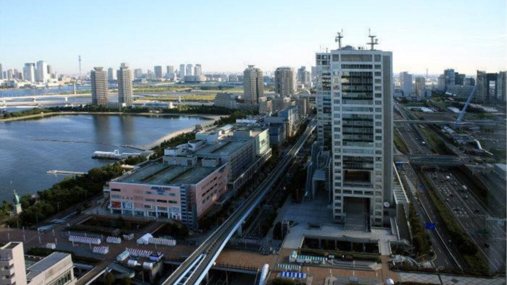 New things Japan set up for the Tokyo Olympics 2020 Tokyo Waterfront City